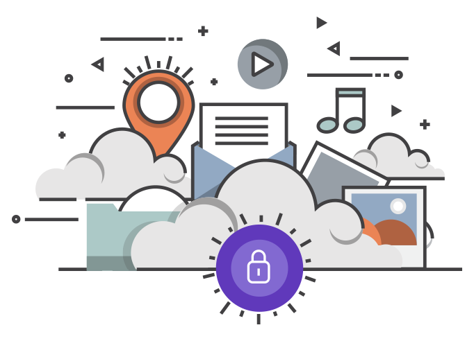 Schutz-Daten-Bilder-Internet